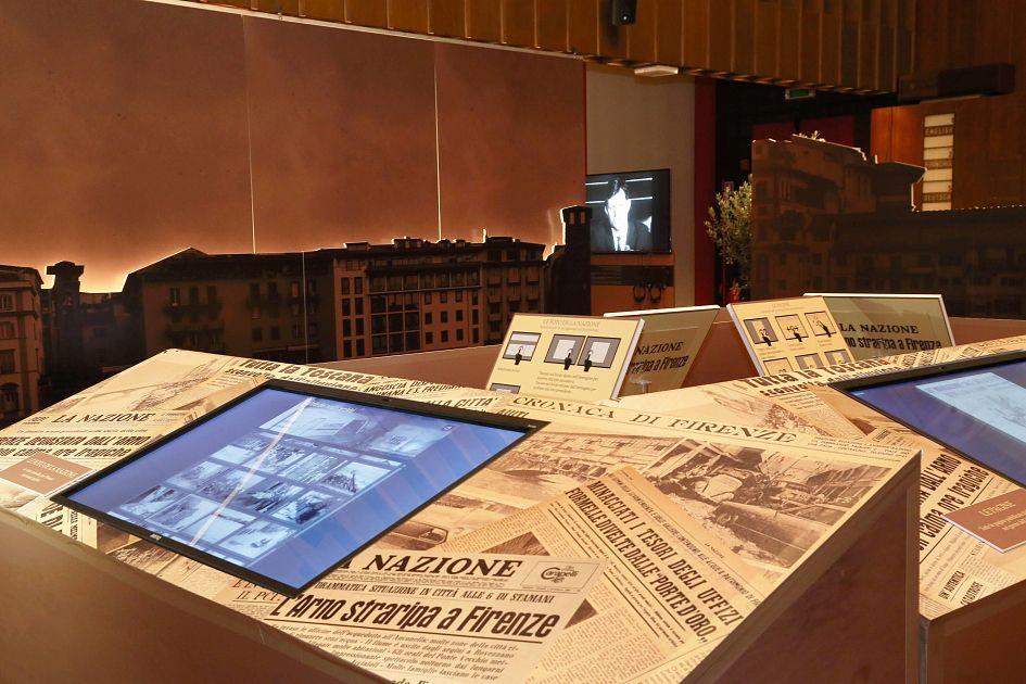 Alluvione del 66 targhe alla memoria di piero bargellini for Nazione di firenze