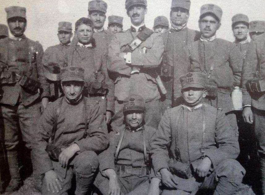 Cento Anni Fa La Grande Guerra La Brigata Sassari