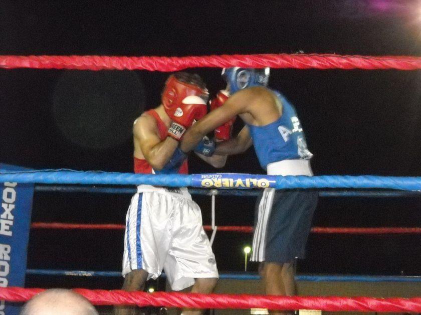 incontro di boxe firenze