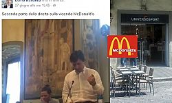 Mc Donald's al Duomo: in 48 ore dagli applausi ai fischi (virtuali)