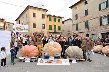 Festa della zucca con le più grandi d'Italia