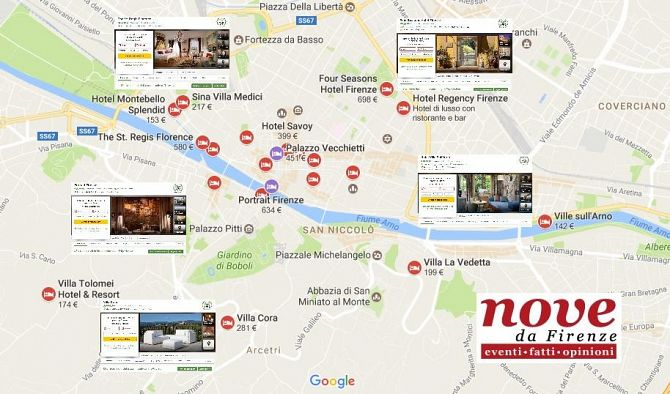 Turismo Luxury a Firenze: dove soggiornare e lavorare domani • Nove ...